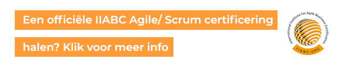 Agile en Scrum Certificering via IIABC